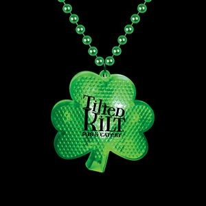 Light Up Shamrock Medallion Beads
